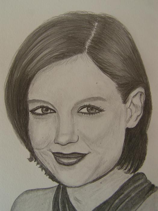 Katie Holmes par BETTYVANMOLEN